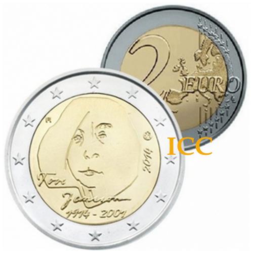 Finlândia  2,€ 2014 Tove Jansson
