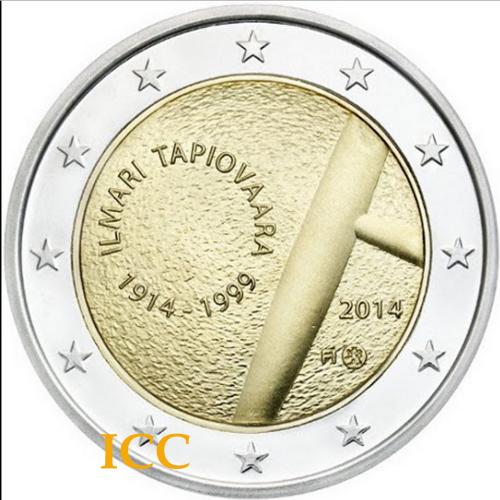Finland 2€  2014 Tapiovaara