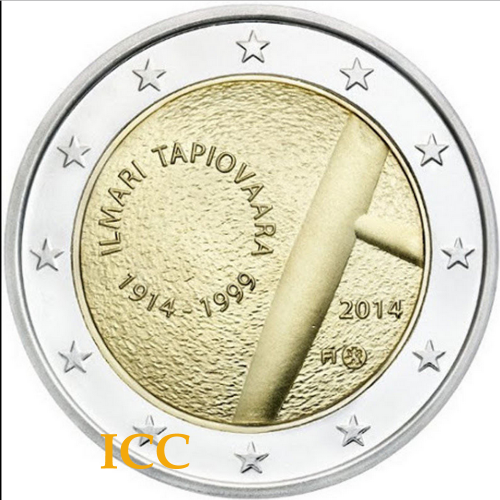 Finlândia 2€  2014 Tapiovaara