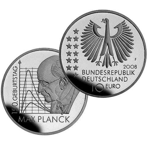 Germany 10€ Max PlancK 2008