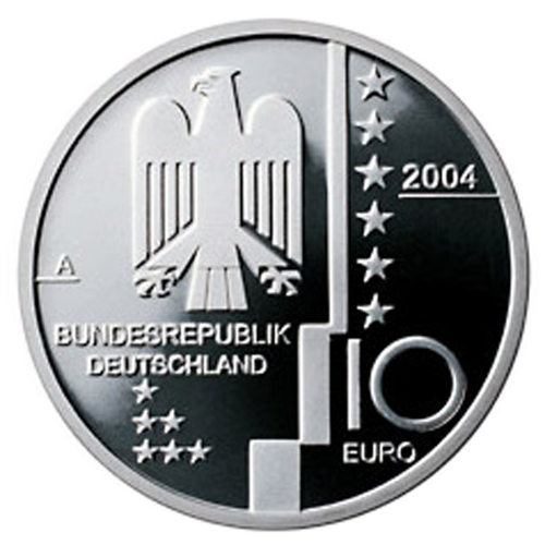 Alemanha 10€ 2004 (Letra A)