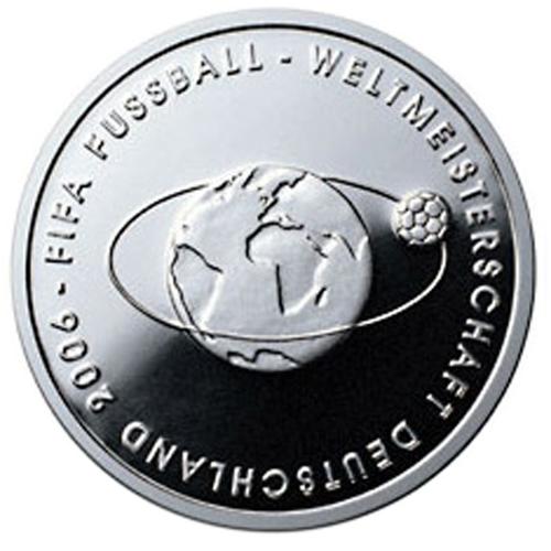Germany 10€ FIFA 2004