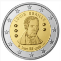 Bélgica 2€ 2009  Louis Braille