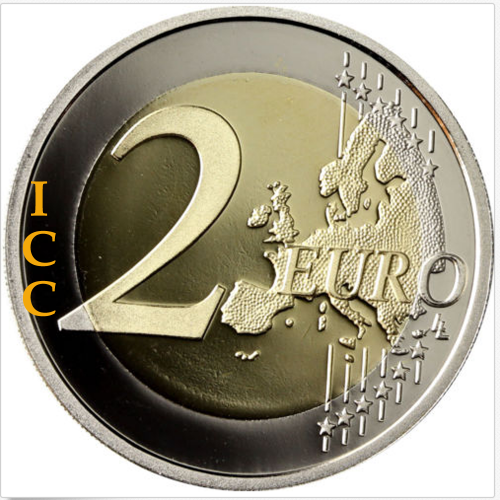Bélgica 2€ 2009 (Louis Braille's)