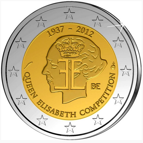 Bélgica 2,00€ 2012 Rainha Elisabeth