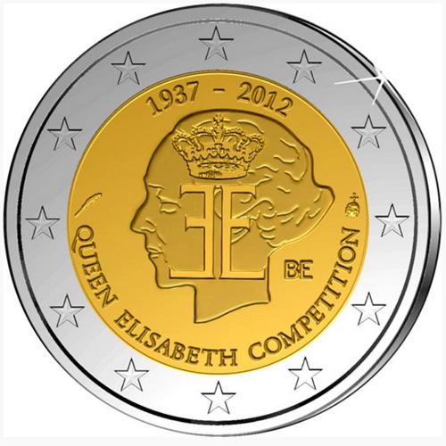 Belgium 2,00€ 2012 Queen Elisabeth