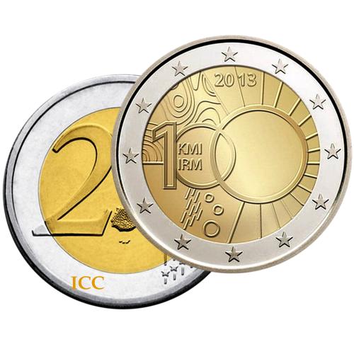 Belgium 2€ 2013 Meteorological Institute