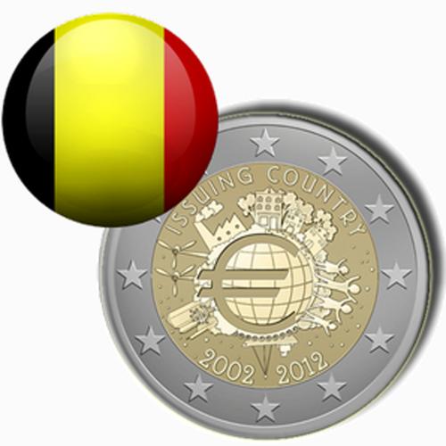 Bélgica (2,00€ 2012)