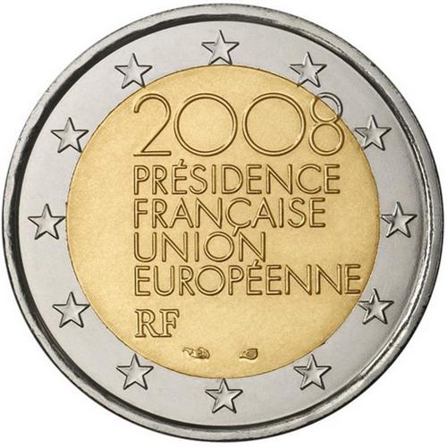 França 2€ 2008 (Presidência da U. E.)