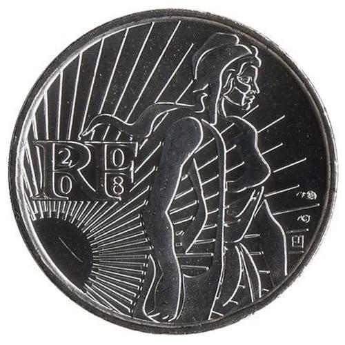 França 5€ 2008