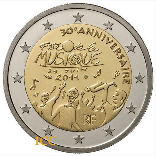 França 2€ 2011