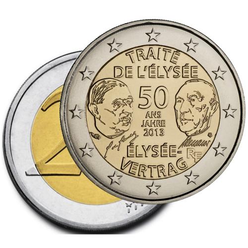 França 2€ 2013Tratado Elysée