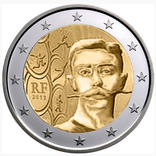 França 2€ 2013 Coubertin