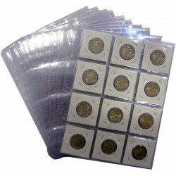 Coins Sheets for 12 coins