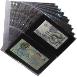 Coin Sheets A5 (Banknotes)