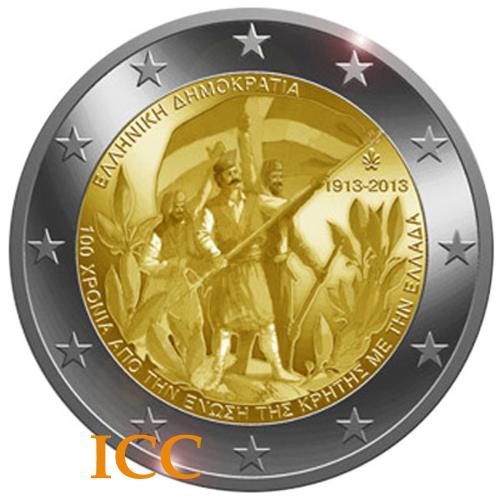 Grécia 2€ 2013 Creta