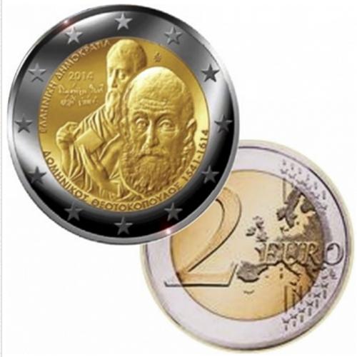 Grécia 2 € 2014 Theotokopoulos