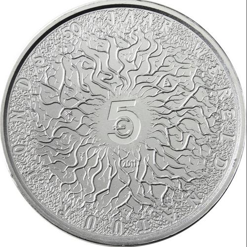 Holanda 5€ 2011