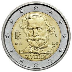 Itália 2€ 2013 Giuseppe Verdi