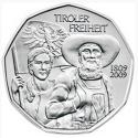 Austria 5€ 2009 Tiroleses