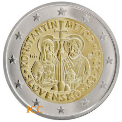 Slovakia 2,00€ 2013 Method Konstantin