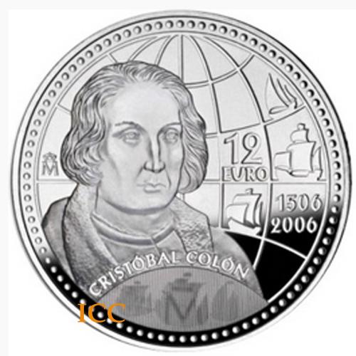 Espanha 12€ 2006 (Cristovão Colombo)