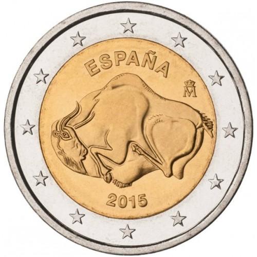 Espanha 2€ 2014 (Grutas de Altamira)