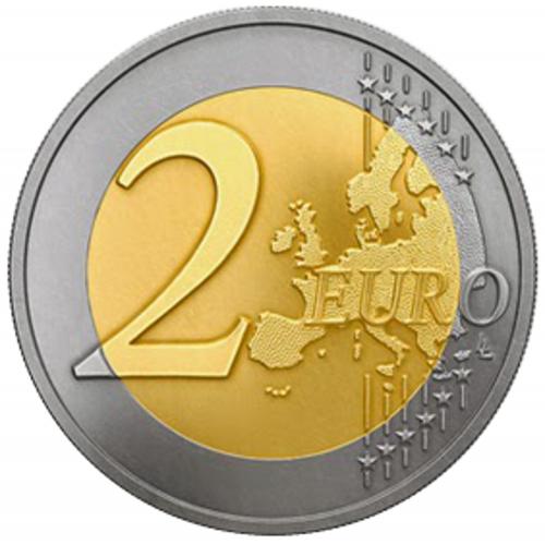Letónia 2€ 2015 (Presidência da U.E.)