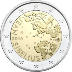 Finlândia 2€ 2015 Jean Sibelius