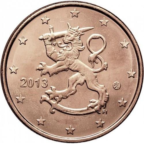 Finlândia 2 cêntimos 2013
