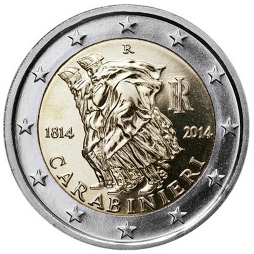 Italy 2€ 2014 Carabinieri