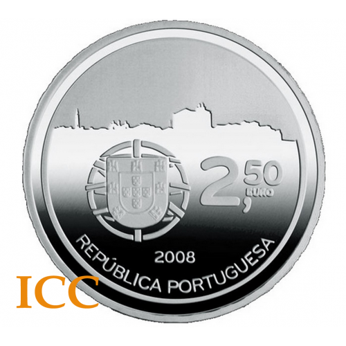 Portugal 2,50€ 2008 (Centro Histórico do Porto)