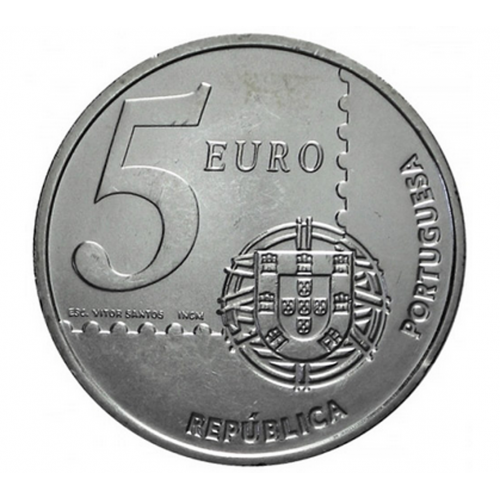 Portugal 5€ 2003 (150 Anos do Selo)