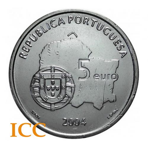 Portugal 5€ 2004 (Centro Histórico de Évora)