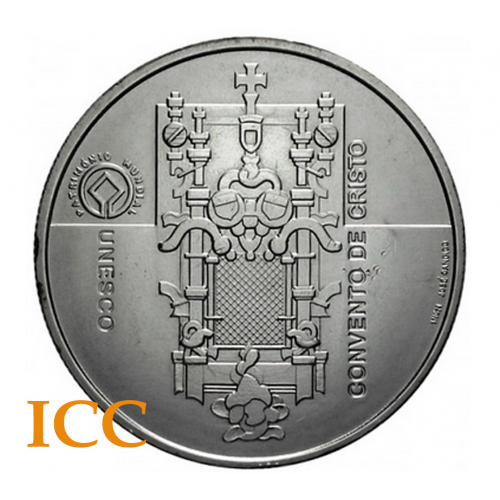 Portugal 5€ Convento de Cristo 2004