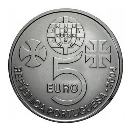 Portugal 5€ 2004 (Convento de Cristo - Tomar)