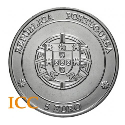 Portugal 5€ 2005 (Centro Histórico de Angra de Heroísmo)