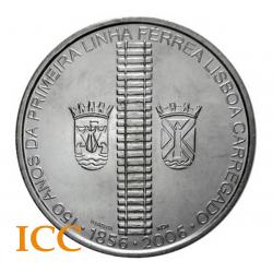 Portugal 8€ 1ª Linha Férrea 2006