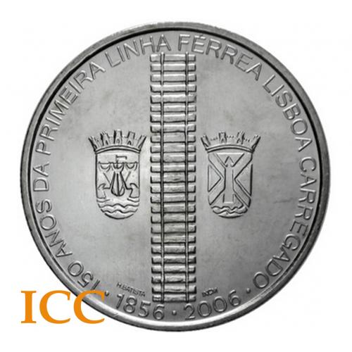 Portugal 8€ 2006 (1ª Linha Férrea)
