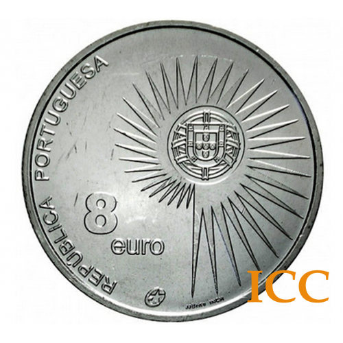 Portugal 8€ 2004 (Alargamento da U. E.)