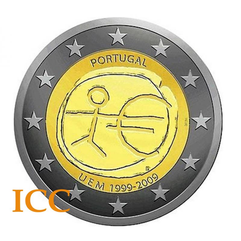 Portugal 2€ 2009 (UEM)