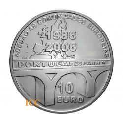Portugal 10€  Adesão à União Europeia 2006