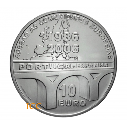 Portugal 10€ E.U. Memberhip 2006
