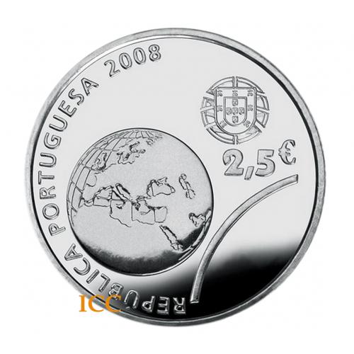 Portugal 2.5€ J. O. de Pequim 2008