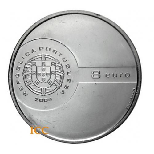 Portugal 8€ 2004 (Remate)