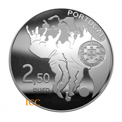 Portugal 2,50€ FIFA World Cup  2010