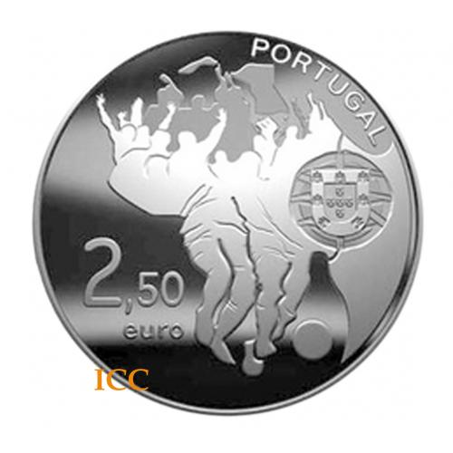 Portugal 2,50€ C.M. Futebol - África do Sul 2010