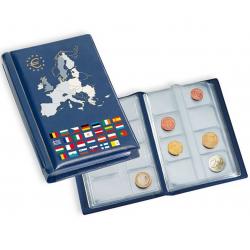 Álbum de bolso p/ 12 Séries de Euro
