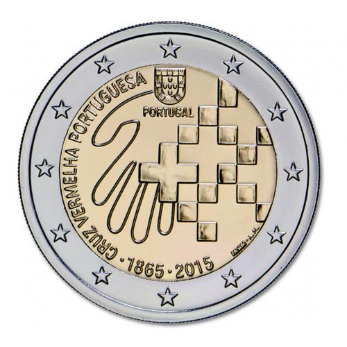 Portugal 2€ Cruz Vermelha 2015