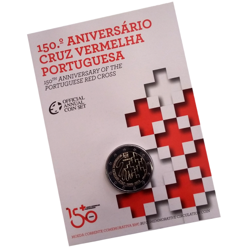Portugal 2€ BU Red Cross 2015